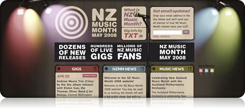 New site for Music Month