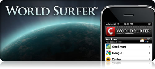 World Surfer app in news