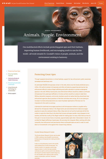 Image for Jane Goodall Institute