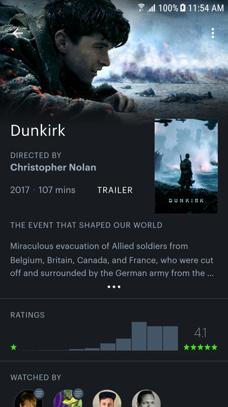 Mobile image for Letterboxd for Android