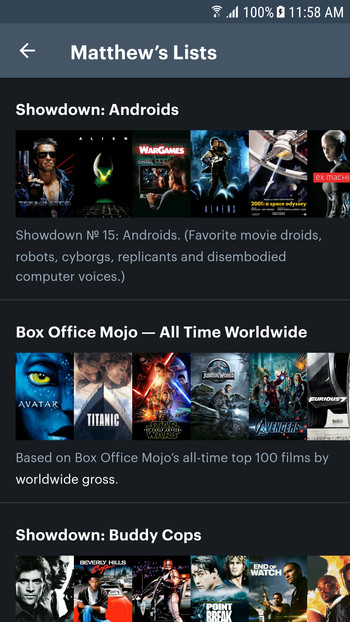 Detail image for Letterboxd for Android