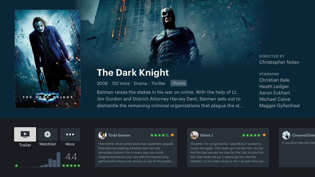 Detail image for Letterboxd for Apple TV