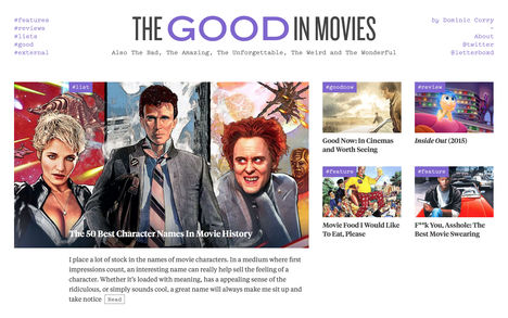 The Good in Movies