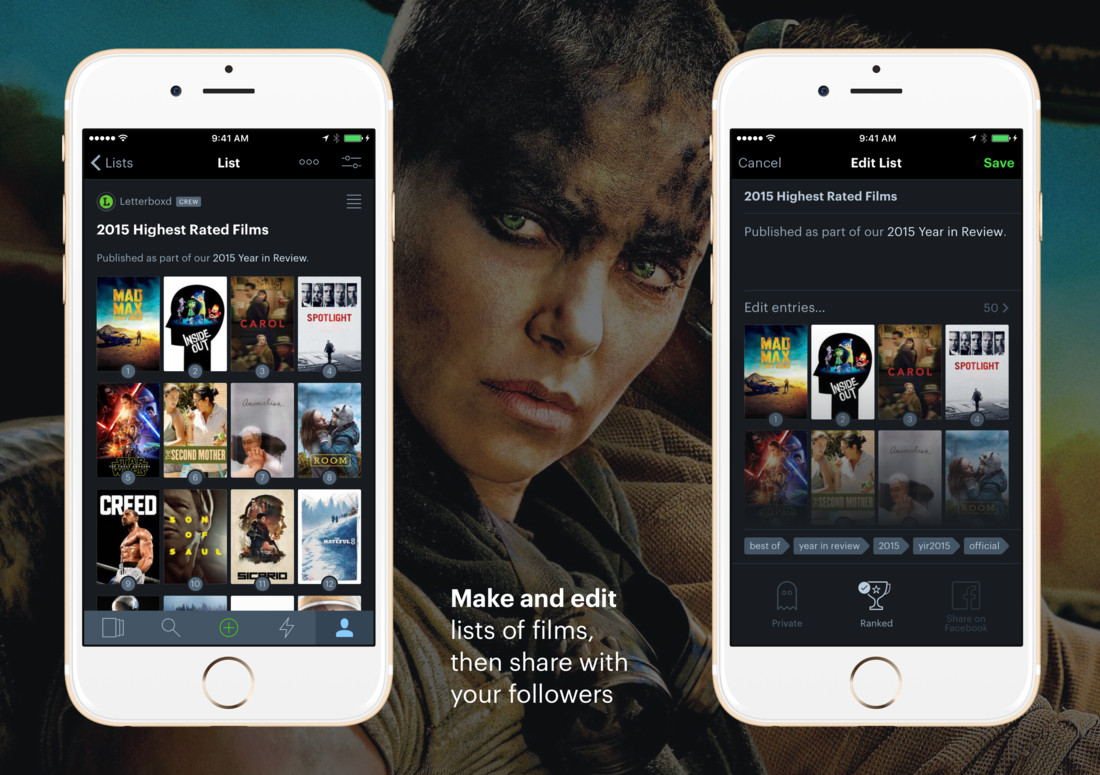 Detail image for Letterboxd for iPhone