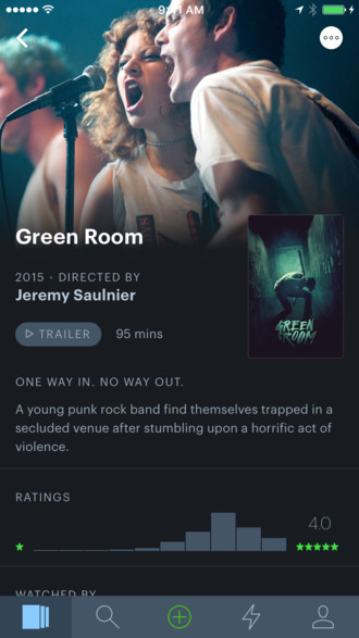 Mobile image for Letterboxd for iPhone