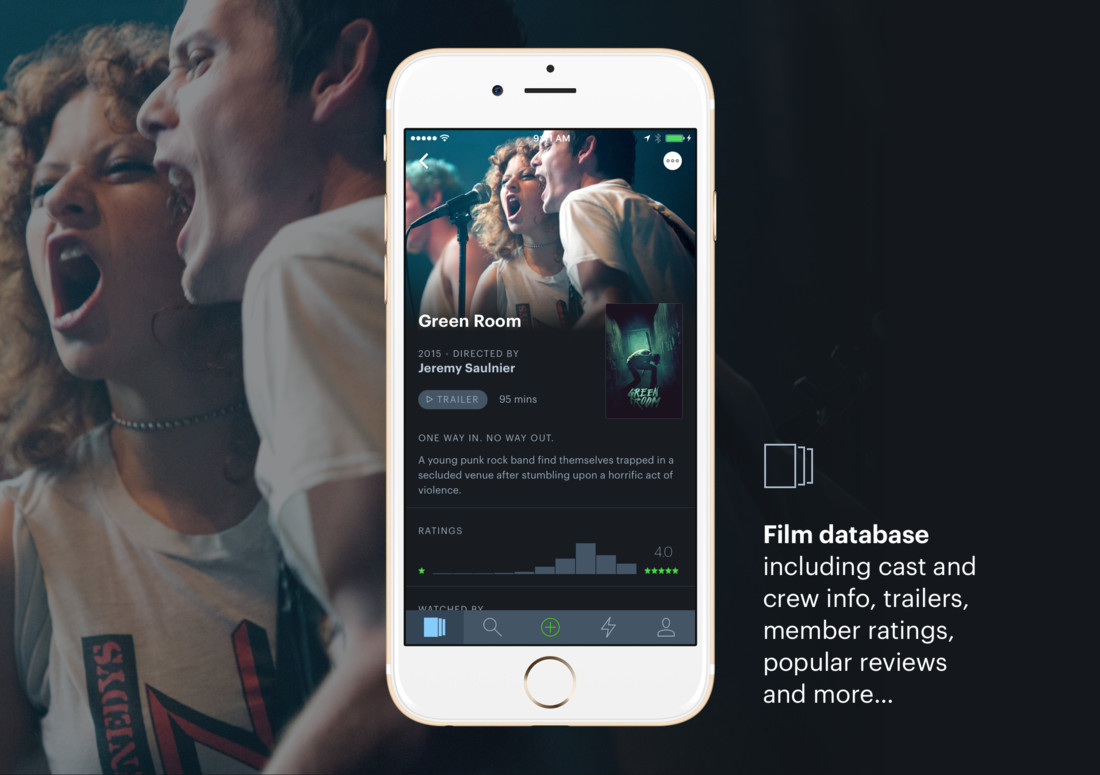 Detail image for Letterboxd for iOS