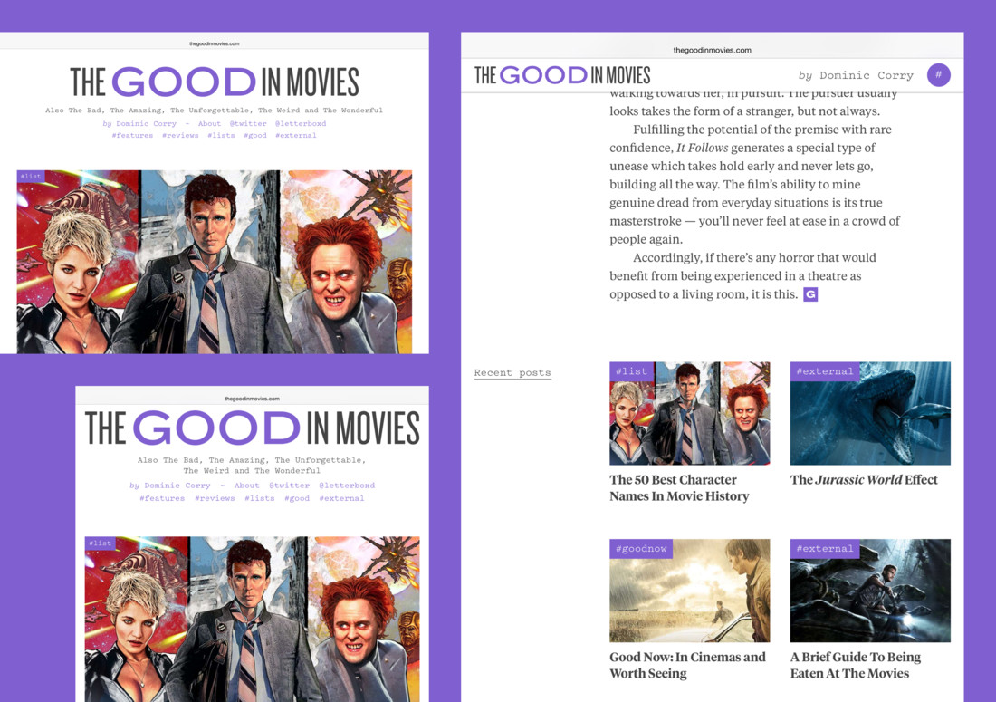 Detail image for The Good In Movies